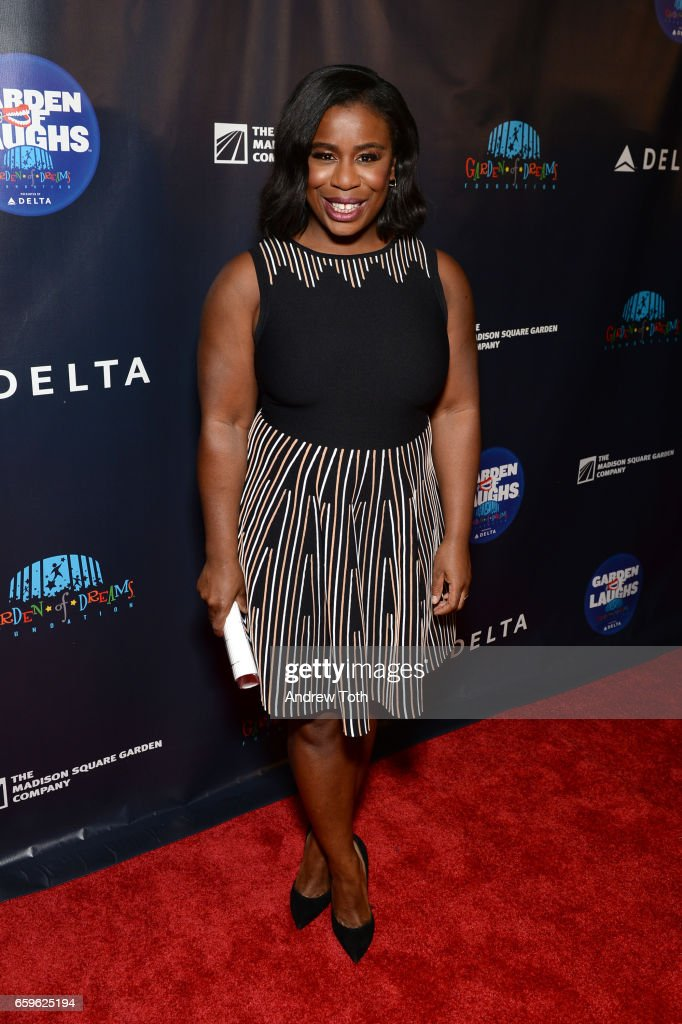 Uzo Aduba attends the 2017 Garden of Laughs at Madison Square Garden on March 28, 2017 in New York City.