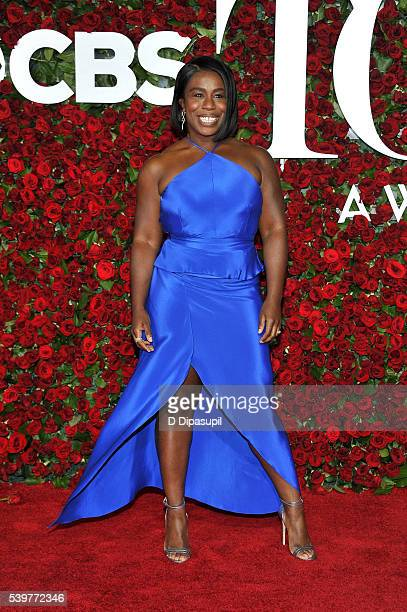 Uzo Aduba attends the 70th Annual Tony Awards at the Beacon Theatre on June 12 2016 in New York City