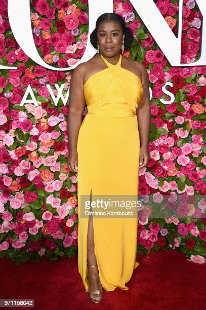 Uzo Aduba attends the 72nd Annual Tony Awards at Radio City Music Hall on June 10 2018 in New York City
