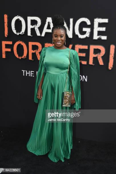Uzo Aduba attends the Orange Is The New Black Final Season World Premiere at Alice Tully Hall Lincoln Center on July 25 2019 in New York City