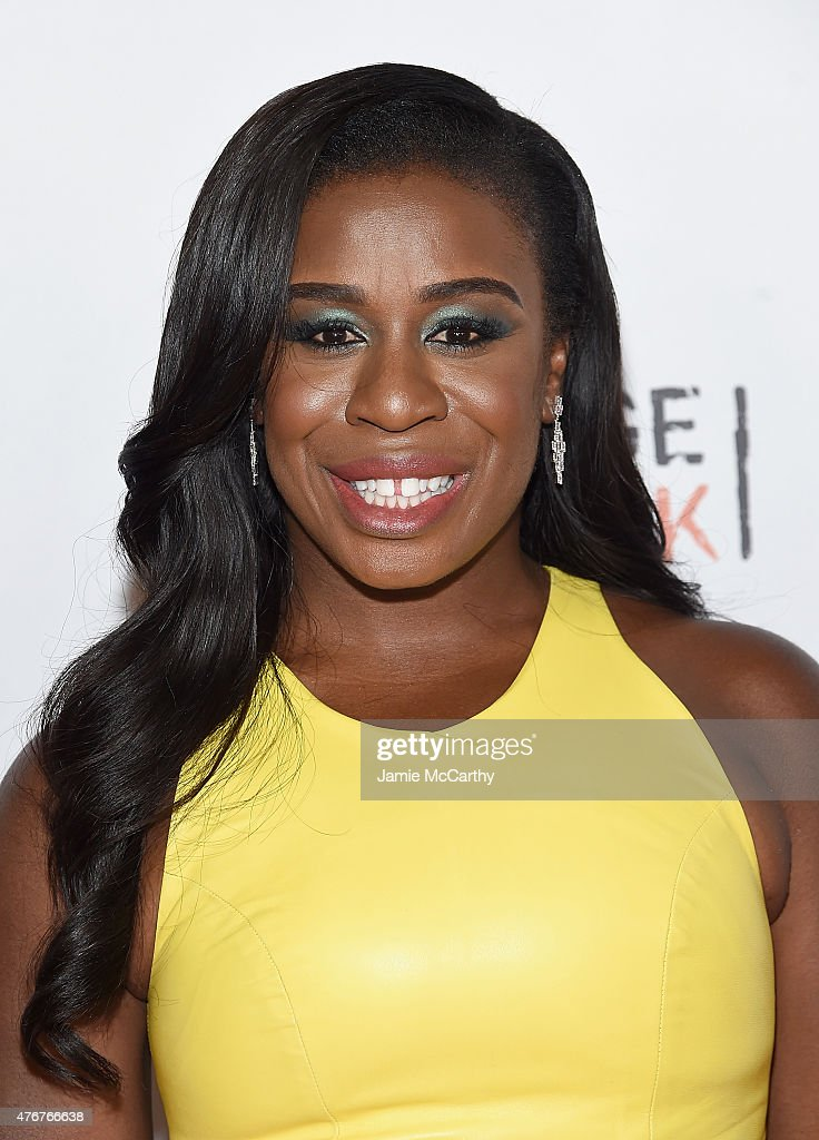 Uzo Aduba attends the 'Orangecon' Fan Event at Skylight Clarkson SQ. on June 11, 2015 in New York City.