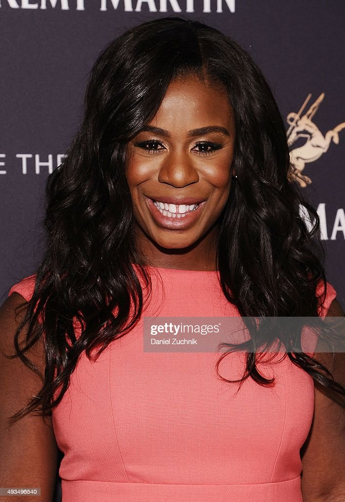 Uzo Aduba attends the The House Of Remy Martin 'One Life/Live Them' Launch Event With Jeremy Renner at ArtBeam on October 20, 2015 in New York City.