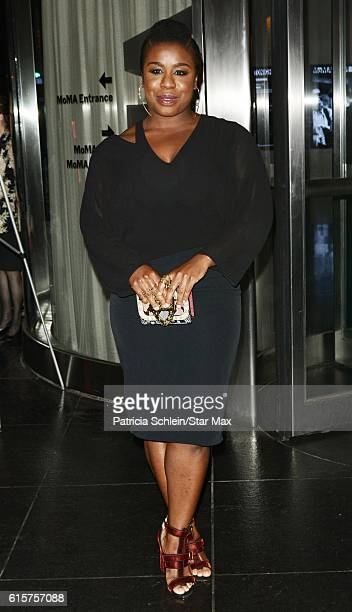 Uzo Aduba is seen arriving to a screening of American Pastoral on October 19 2016 in New York City