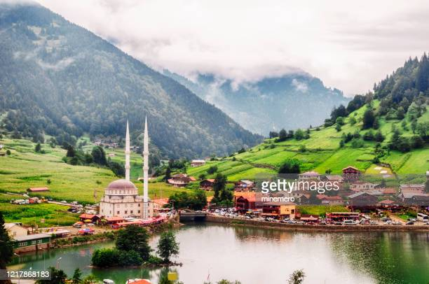 uzungol in trabzon, turkey - trabzon stock pictures, royalty-free photos & images