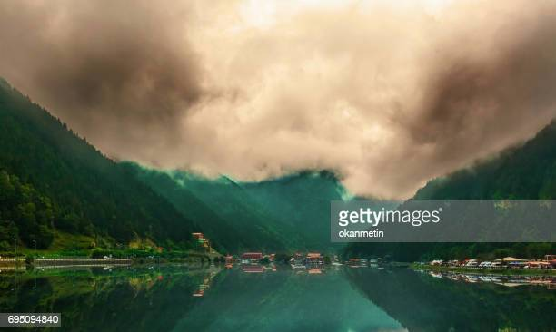 uzungol - trabzon stock photos and pictures