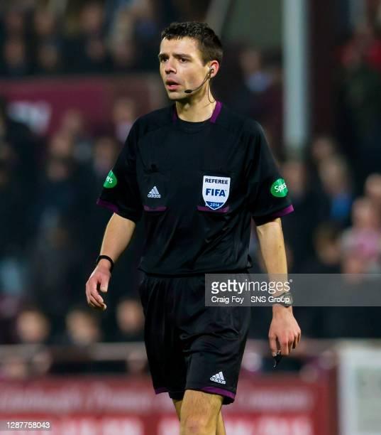 V ABERDEEN. TYNECASTLE - EDINBURGH. Referee Kevin Clancy