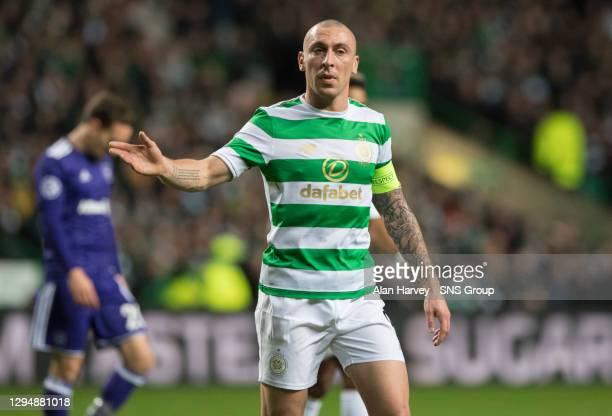 V ANDERLECHT . CELTIC PARK - GLASGOW.Celtic's Scott Brown.