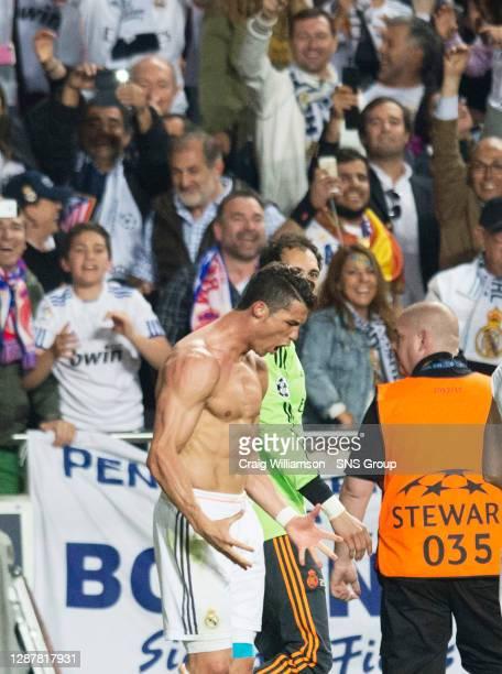 V ATLETICO MADRID.ESTADIO DA LUZ - LISBON.Real Madrid's Cristiano Ronaldo celebrates his goal