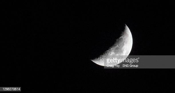 V CELTIC .THE ENERGY CHECK STADIUM AT FIRHILL - GLASGOW.The Moon