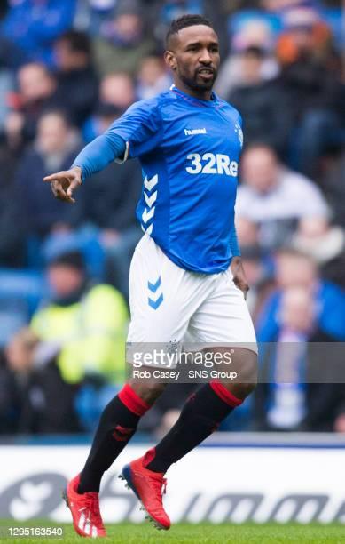 V HJK HELSINKI.IBROX - GLASGOW .Jermain Defoe in action for Rangers on his debut