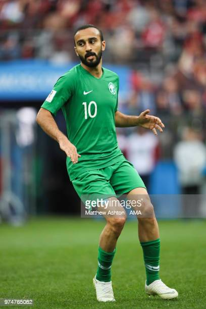 v in action during the 2018 FIFA World Cup Russia group A match between Russia and Saudi Arabia at Luzhniki Stadium on June 14 2018 in Moscow Russia