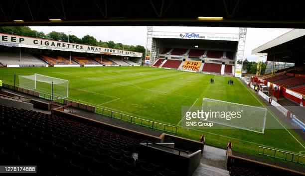V INVERNESS CT .FIR PARK - MOTHERWELL.Fir Park home of Motherwell FC