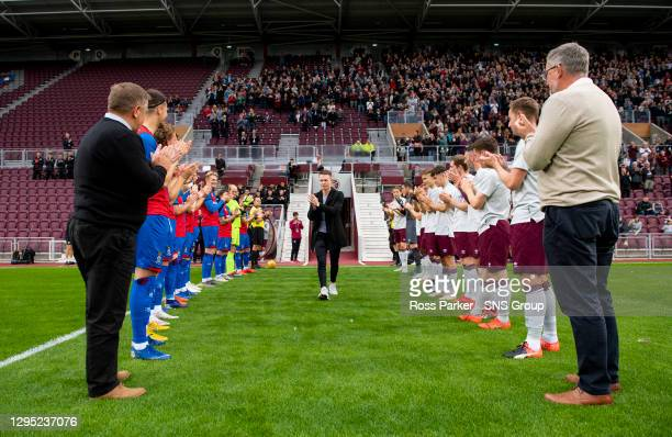 V INVERNESS CT.TYNECASTLE PARK - EDINBURGH.Former Hearts and Inverness midfielder Angus Beith walks onto the park