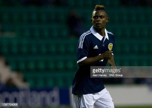 V ITALY U21.EASTER ROAD STADIUM - EDINBURGH.Islam Feruz makes his debut for Scotland U21