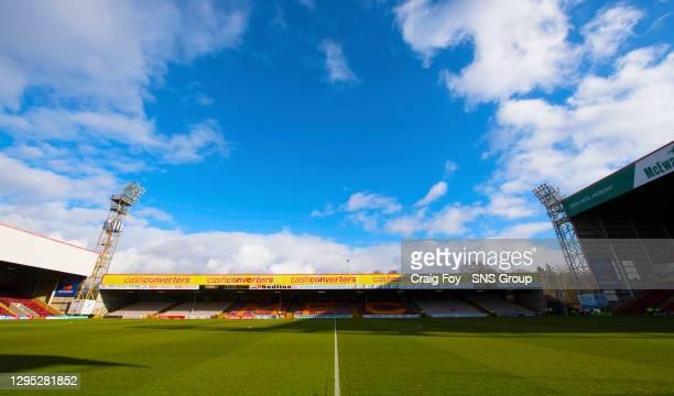 V KILMARNOCK .FIR PARK - MOTHERWELL.Fir Park, home of Motherwell FC
