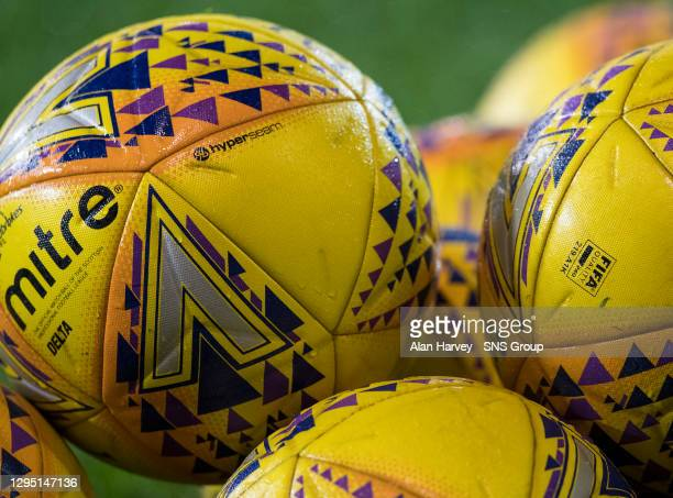 V LIVINGSTON.PITTODRIE - ABERDEEN.A generic image of the match balls