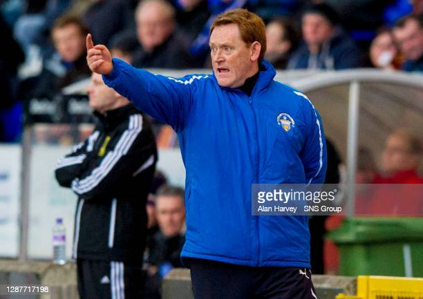V MORTON.TULLOCH CALEDONIAN STADIUM - INVERNESS.David Hopkins takes interim charge of Morton after the recent sacking of manager Allan Moore