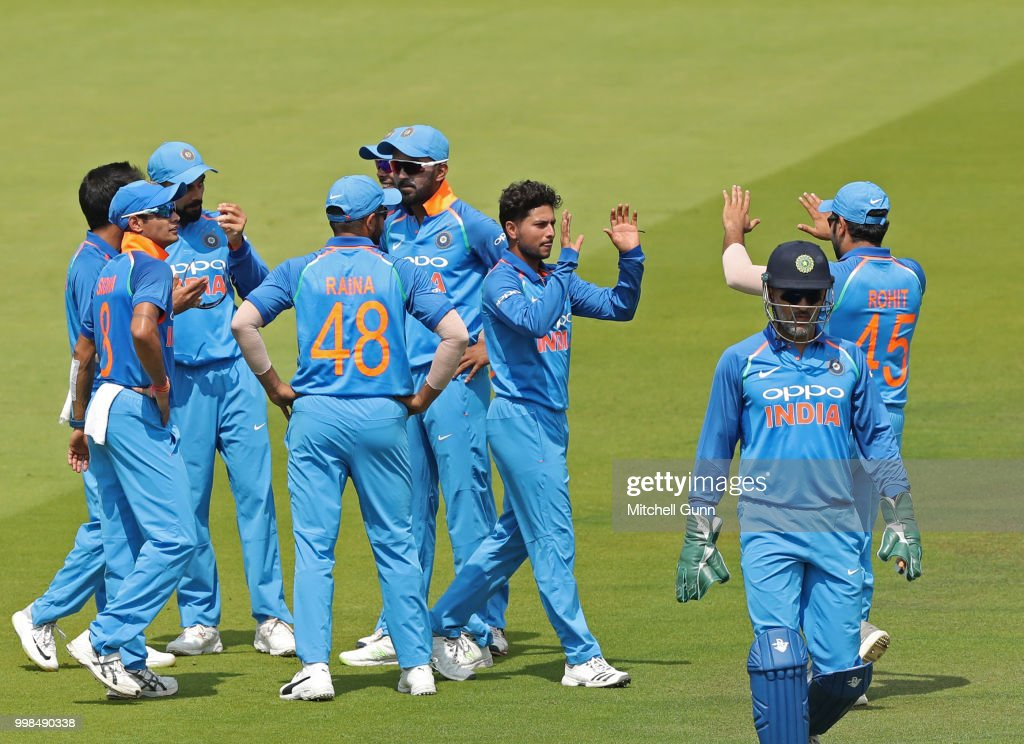 England v India - 2nd ODI: Royal London One-Day Series : News Photo