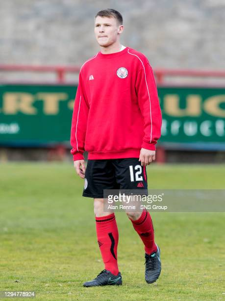 V RAITH ROVERS .GLEBE PARK - BRECHIN .Brechin City's Chris O'Neil