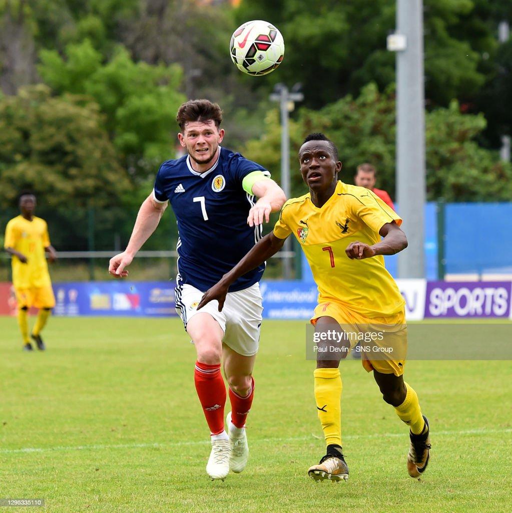 U21 V Togo U21 Stade De Lattre Aubagne Scotland S Oliver Burke News Photo Getty Images