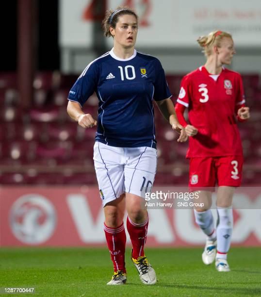 V WALES WOMEN.TYNECASTLE - EDINBURGH.Jennifer Beattie in action for Scotland.