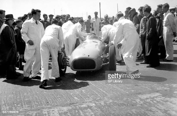 V16 prototype folkingham prop royal at silverstone demo, 1949.