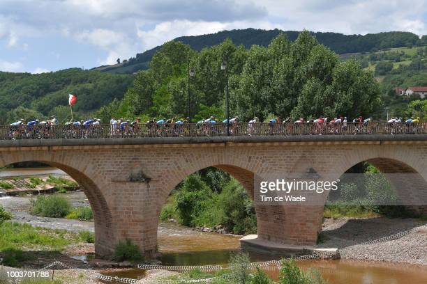 Gianni Moscon of Italy and Team Sky / during the 105th Tour de France 2018 Stage 15 a 1815km stage from Millau to Carcassonne / TDF / on July 22 2018...
