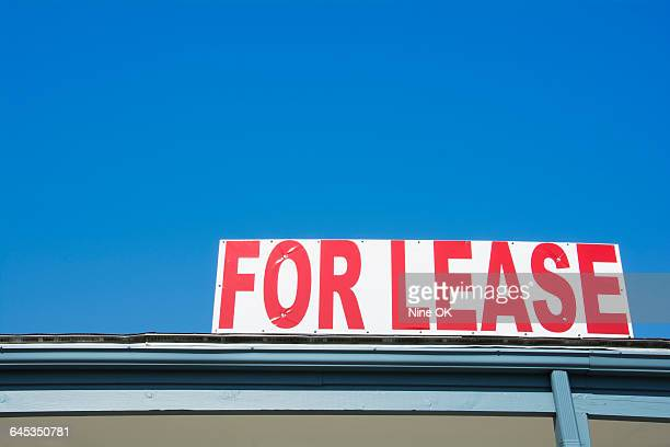 Vacant building for lease