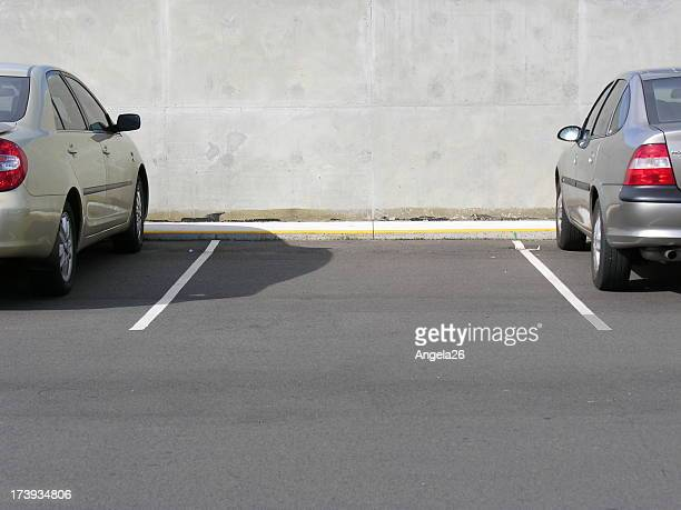 vacant car parking space - car park stock pictures, royalty-free photos & images