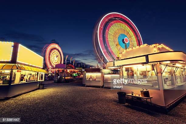 vacant carnival - carnival stock photos and pictures