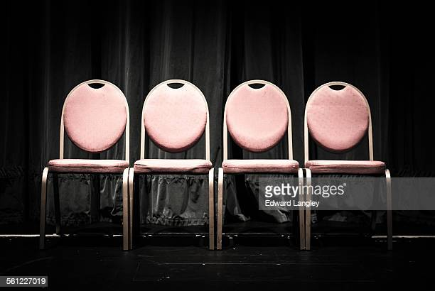 Vacant empty chairs