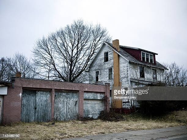 Vacant homes high crime and urban blight mar what was once one of the busiest steel mill towns along the famous American Rust Belt on February 7 2012...