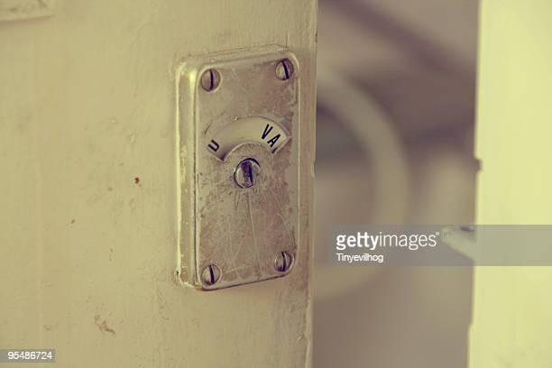 Vacant Sign on Door