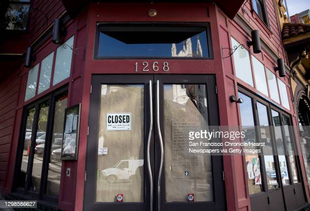 Vacant storefront at 1268 Grant Avenue is seen in North Beach neighborhood of San Francisco, Calif. Wednesday, May 8, 2019.