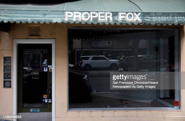 Vacant storefront at 552 Columbus Avenue is seen in the North Beach neighborhood of San Francisco, Calif. Wednesday, May 8, 2019.