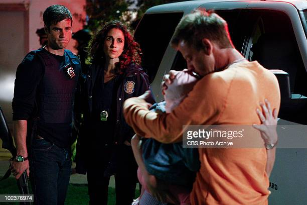'Vacation Getaway' Det Don Flack from left Det Stella Bonasera and Danny Messer on CSINY scheduled to air Wednesday May 26 on the CBS Television...