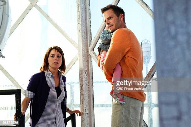 'Vacation Getaway' Det Lindsay Monroe left and Danny Messer enjoy a vacation with their daughter on CSINY scheduled to air Wednesday May 26 on the...