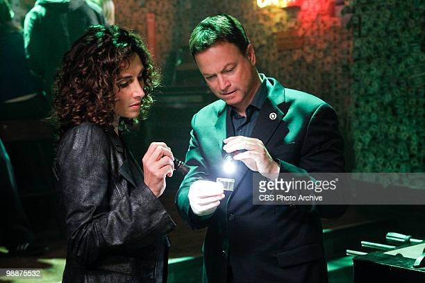 Vacation Getaway Det Stella Bonasera left and Det Mac Taylor on CSINY scheduled to air Wednesday May 26 on the CBS Television Network