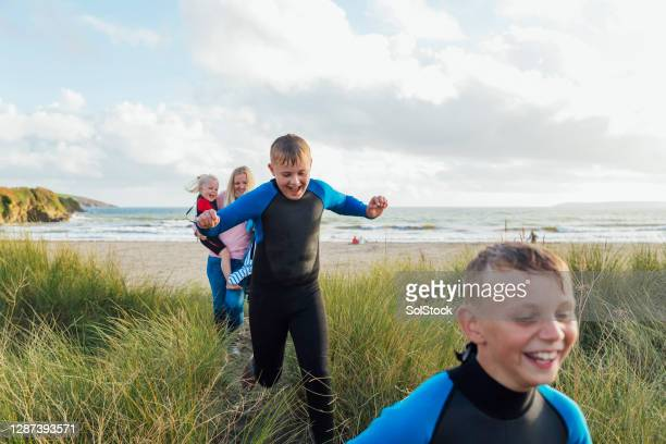 vacation in cornwall - tourism stock pictures, royalty-free photos & images