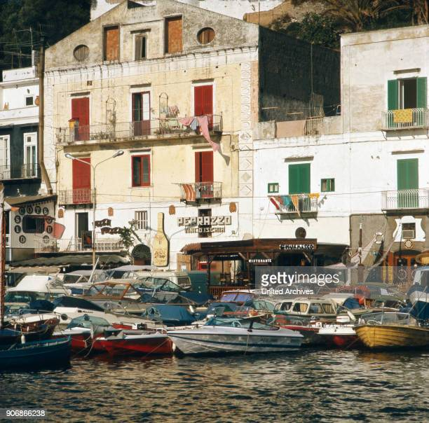 Vacation in Italy on the island Ischia Italy 1970s
