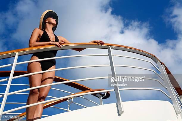 Femme de vacances