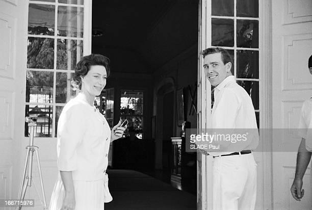 Vacation Of Tony And Margaret Snowdon In Antigua Guatemala Antigua janvier 1962 La princesse MARGARET comtesse de Snowdon et son époux Antony...