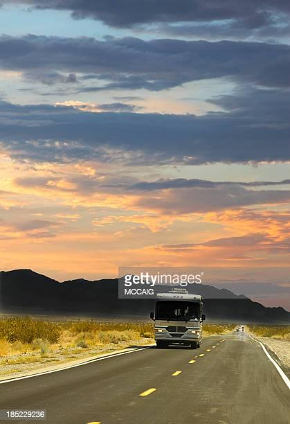 Vacances pour les camping-cars