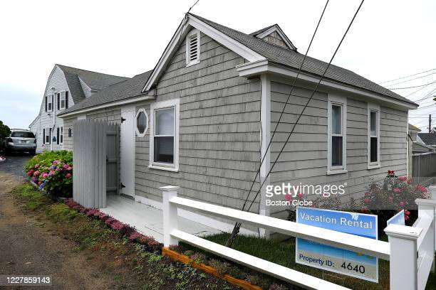 A vacation rental home in Dennis Port part of a waterfront compound summer rental in Dennis MA on July 17 2020 The pandemic has brought a boom for...