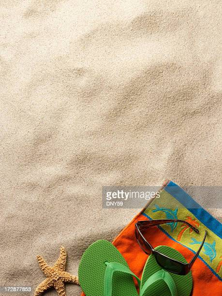 tempo di vacanze - ciabatta infradito foto e immagini stock