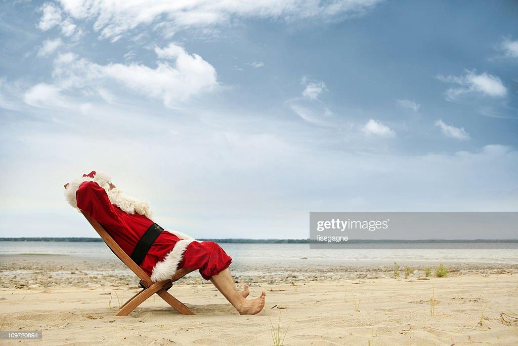 Vacations for Santa : Stock Photo