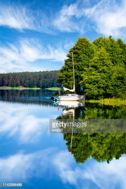 Vacations in Poland - Holiday with a sailboat by the lake
