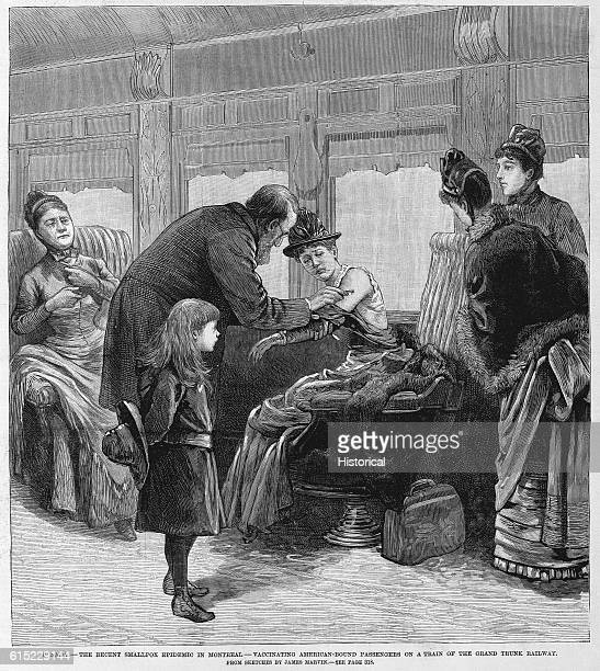 Vaccinating Train Passengers for Smallpox
