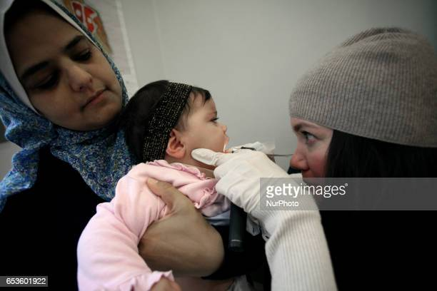 Vaccination program for young refugees in Athens Greece March 15 2017 The cooperation of NGOs SolidarityNow and Anthropos held a voluntary...