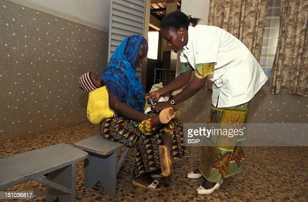 Vaccination Program In A Unicef Free Clinic Burkina Faso